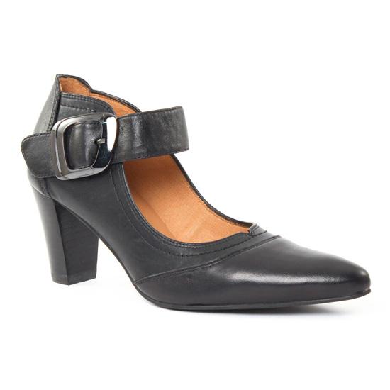 Escarpins Fugitive Manao Noir noir, vue principale de la chaussure femme