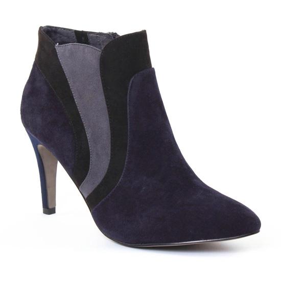 Bottines Et Boots Tamaris 25342 Navy, vue principale de la chaussure femme