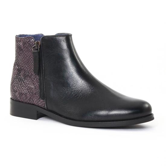 Bottines Et Boots Pintodiblu PintoDiBlu 76950 Noir, vue principale de la chaussure femme