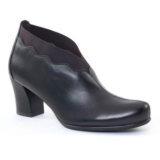 Bottines Et Boots Mamzelle Iliade Noir, vue principale de la chaussure femme