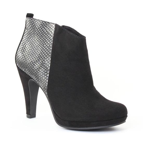 Bottines Et Boots Marco Tozzi 25363 Black, vue principale de la chaussure femme