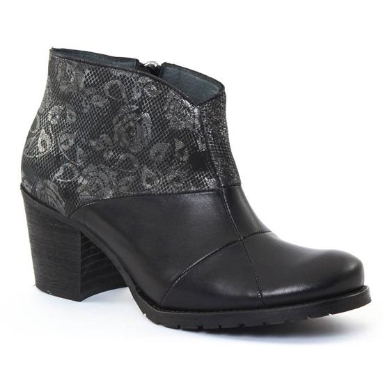 Bottines Et Boots Scarlatine 3644 Noir, vue principale de la chaussure femme