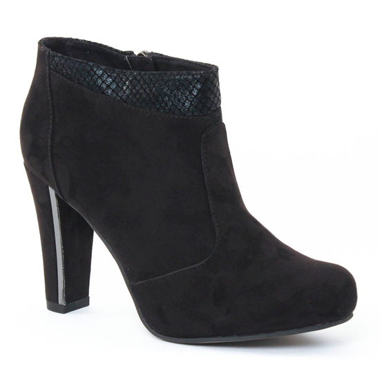 Bottines Et Boots Tamaris 25052 Black, vue principale de la chaussure femme