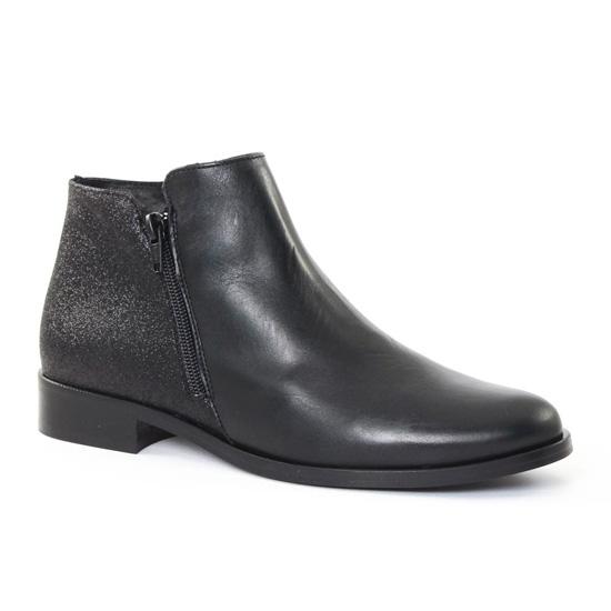 Bottines Et Boots Scarlatine 6822 Noir, vue principale de la chaussure femme
