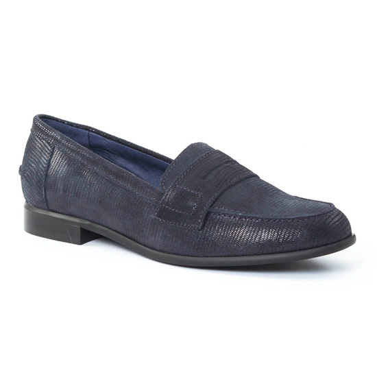 Mocassins Pintodiblu PintoDiBlu 10570 Bleu, vue principale de la chaussure femme