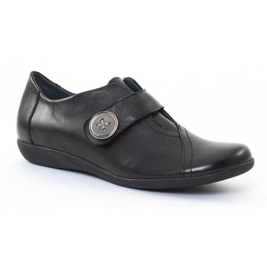 Mocassins Scarlatine 2167 Noir, vue principale de la chaussure femme