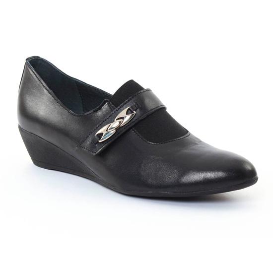 Mocassins Scarlatine 7912 Noir, vue principale de la chaussure femme