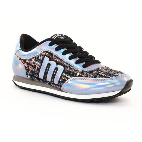 Tennis Et Baskets Mode Mtng 56406 Bleu, vue principale de la chaussure femme