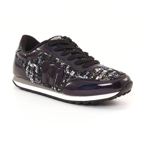 Tennis Et Baskets Mode Mtng 56406 Black, vue principale de la chaussure femme