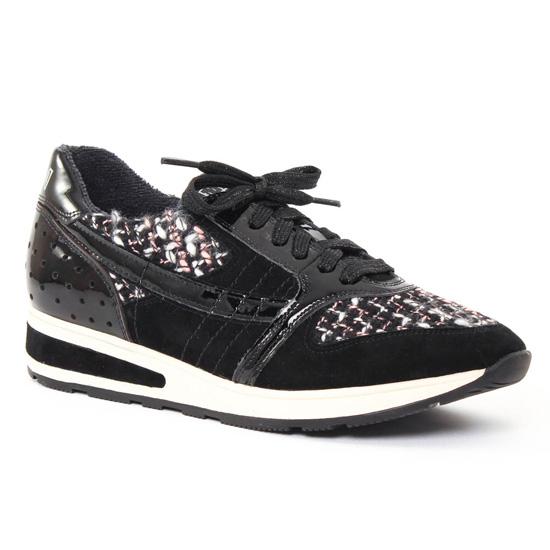 Tennis Et Baskets Mode Mamzelle Ukase Noir, vue principale de la chaussure femme