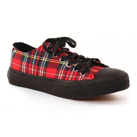Tennis Et Baskets Mode Mtng 69722 Rouge, vue principale de la chaussure femme
