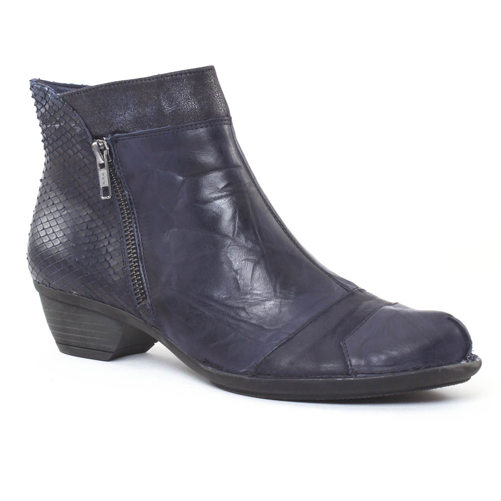dorking nina 6863 river boots bleu marine automne hiver chez trois par 3. Black Bedroom Furniture Sets. Home Design Ideas