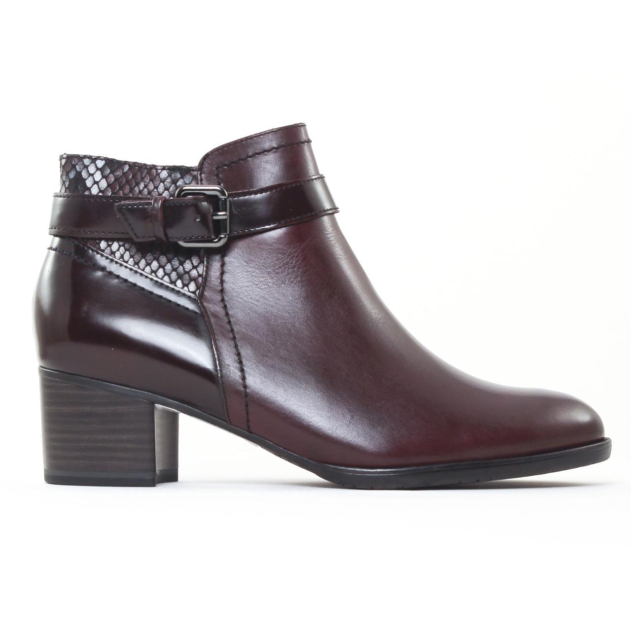 bf127a0cd54 boots Jodhpur bordeaux mode femme automne hiver vue 2