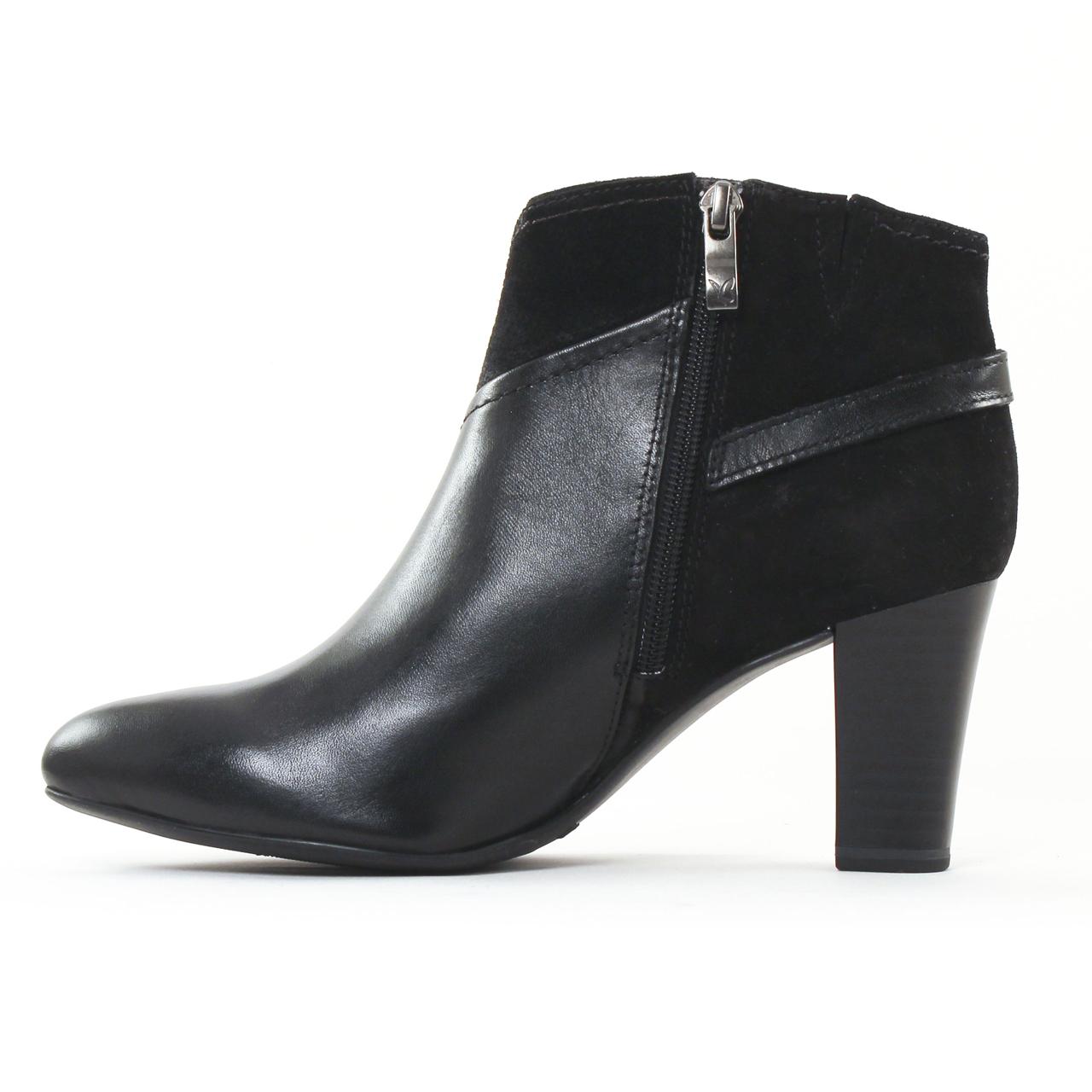 vente chaude choisir l'original magasin Caprice 25345 Black Comb | boots noir automne hiver chez ...
