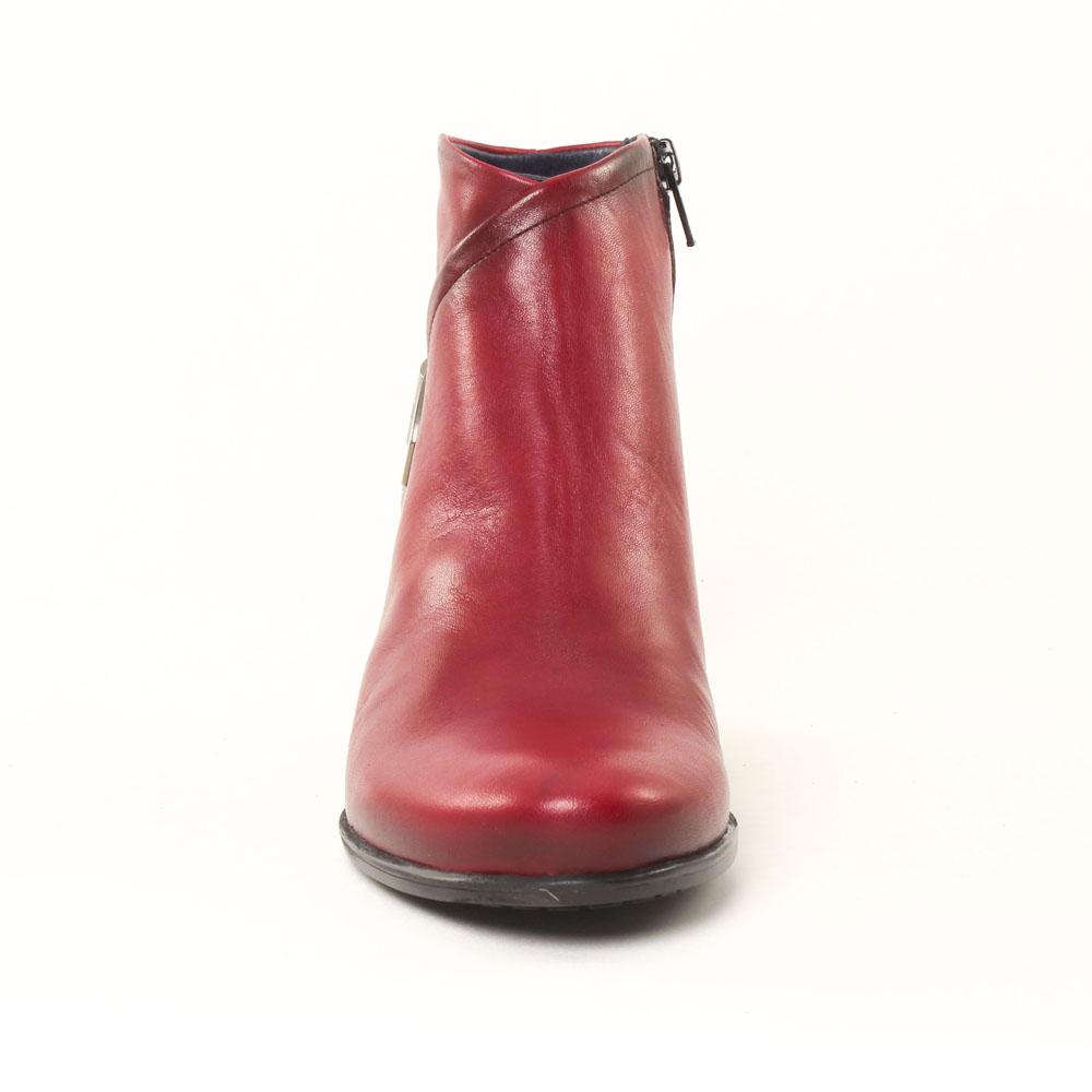fac78c4c81e5 boots rouge mode femme automne hiver vue 4