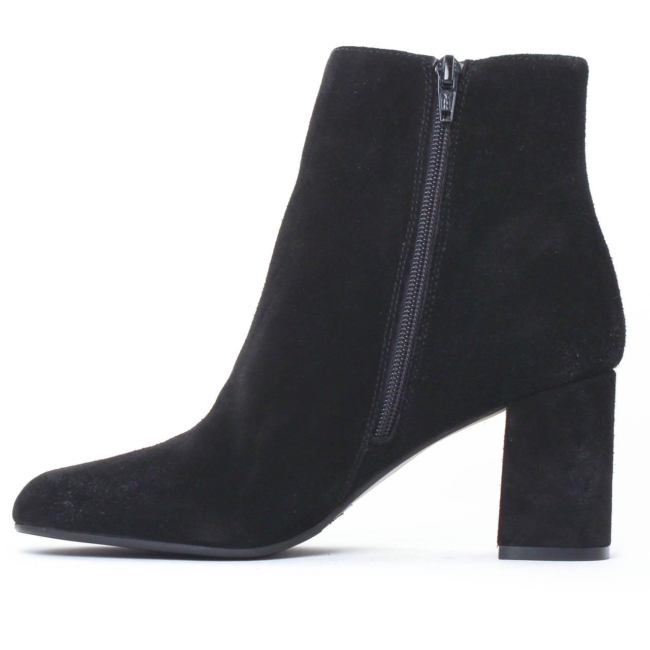 bprivate 1201 noir boot talon noir automne hiver chez trois par 3. Black Bedroom Furniture Sets. Home Design Ideas