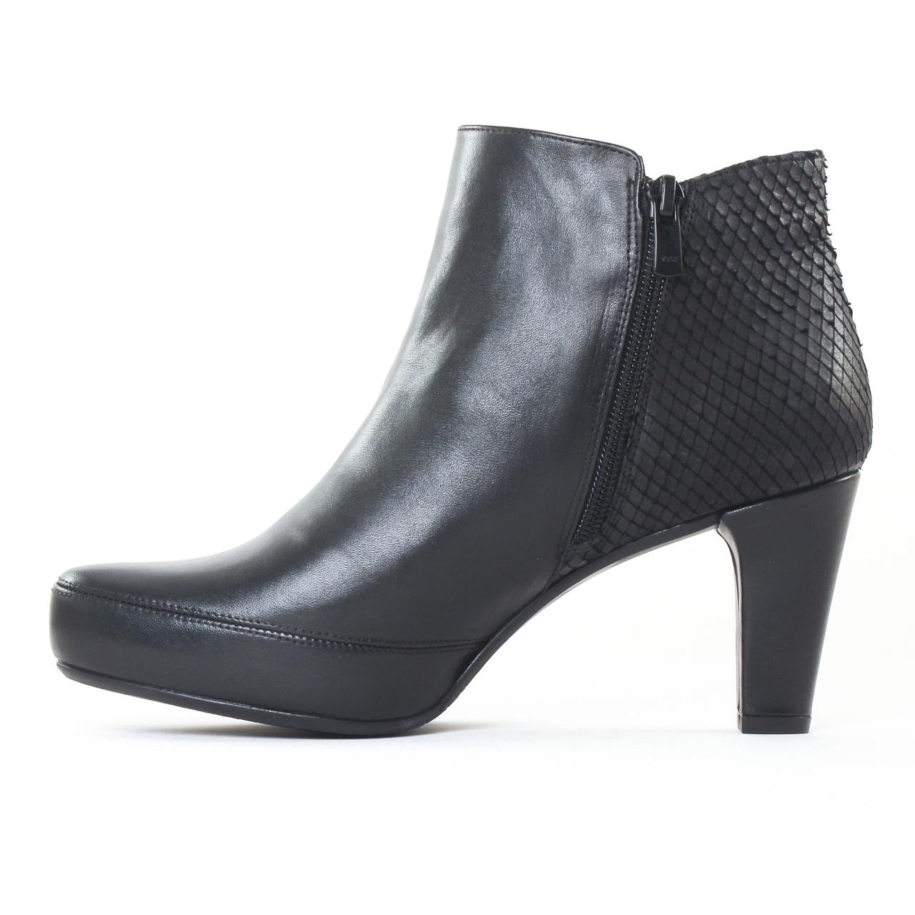 dorking blesa 6413 noir boot talon noir automne hiver chez trois par 3. Black Bedroom Furniture Sets. Home Design Ideas