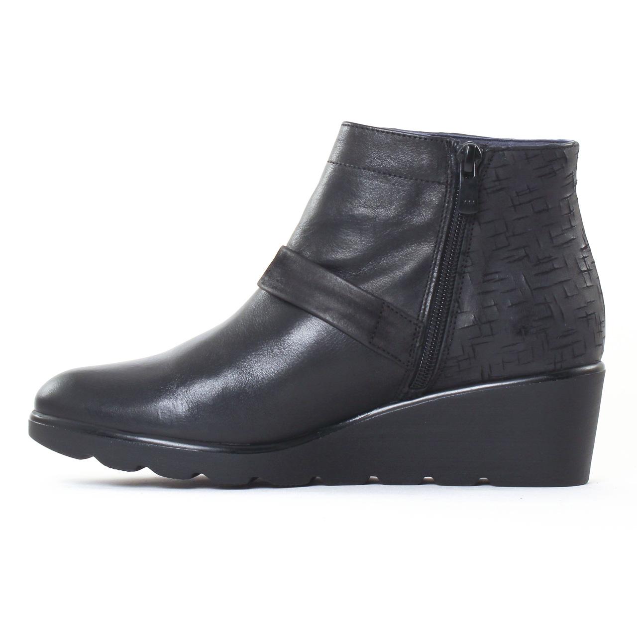 dorking iris 6968 noir boot talon noir automne hiver. Black Bedroom Furniture Sets. Home Design Ideas