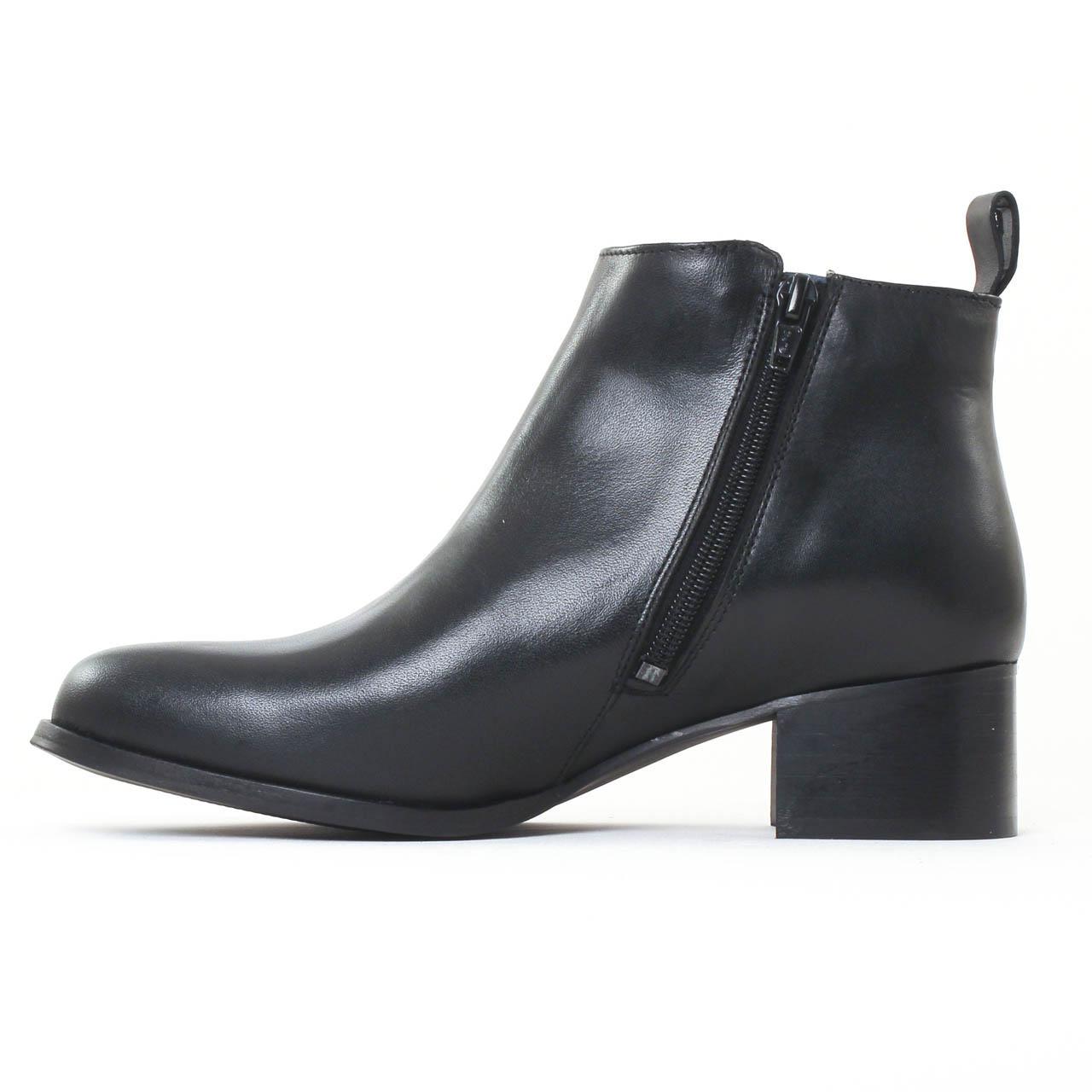 scarlatine 2649a noir boot talon noir automne hiver chez. Black Bedroom Furniture Sets. Home Design Ideas