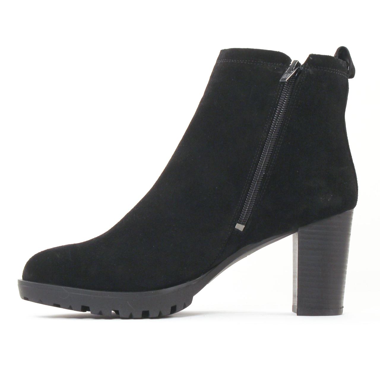 scarlatine 3000 noir boot talon noir automne hiver chez. Black Bedroom Furniture Sets. Home Design Ideas