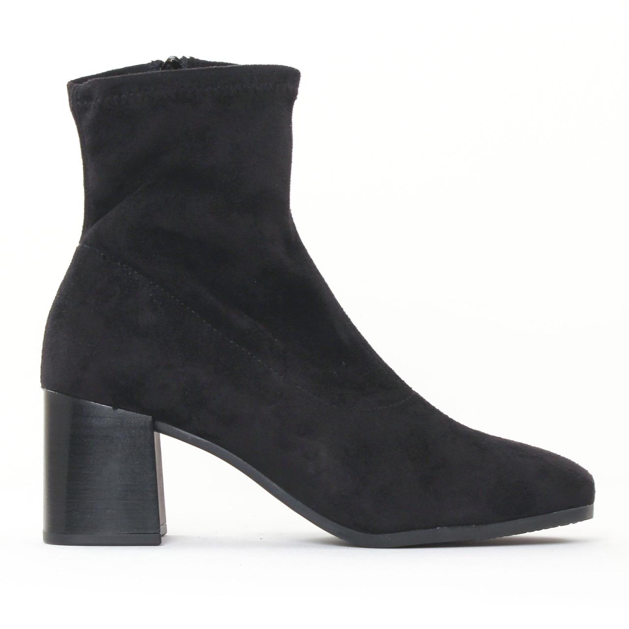tamaris 25007 black boot talon noir automne hiver chez. Black Bedroom Furniture Sets. Home Design Ideas