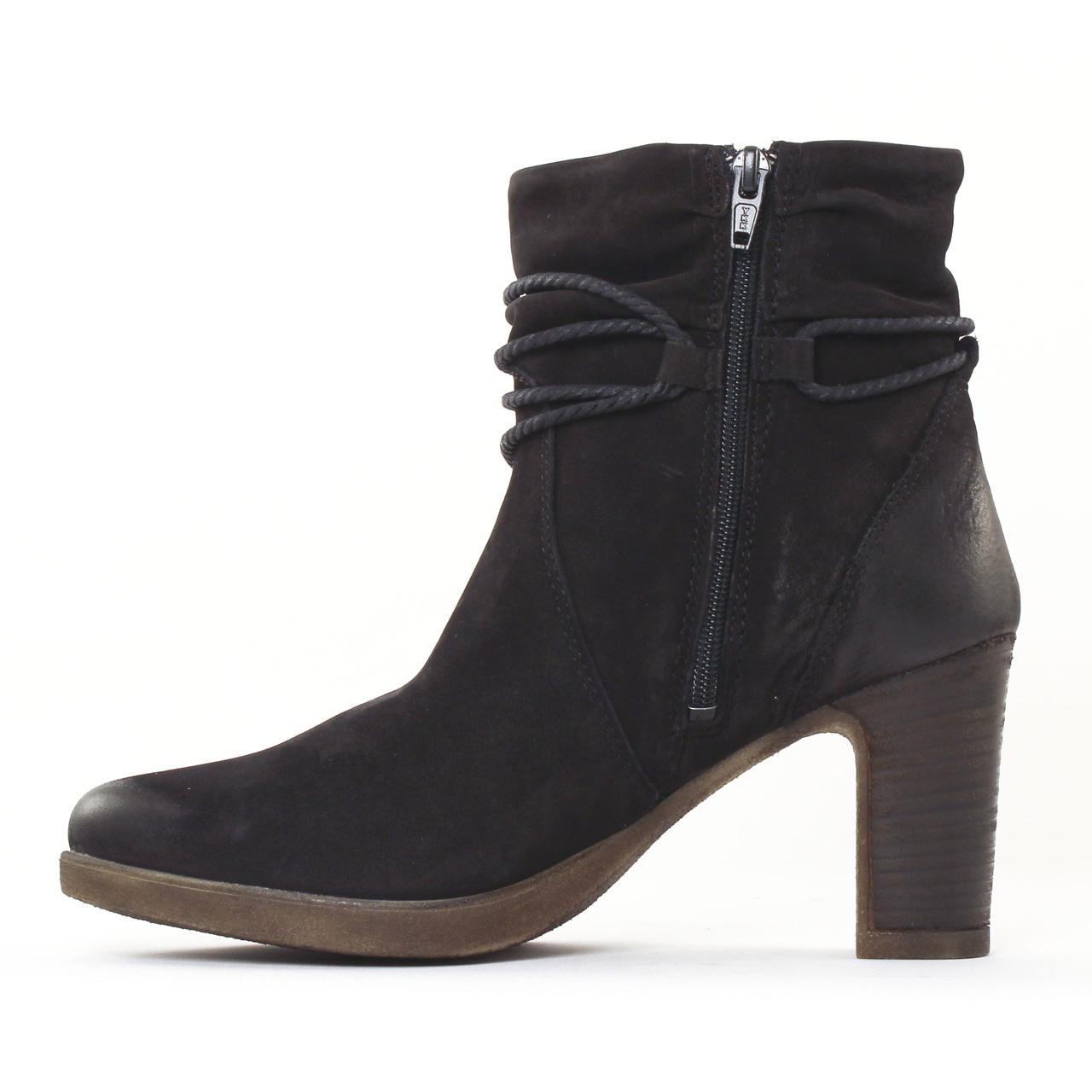 tamaris 25387 black boot talon noir automne hiver chez. Black Bedroom Furniture Sets. Home Design Ideas