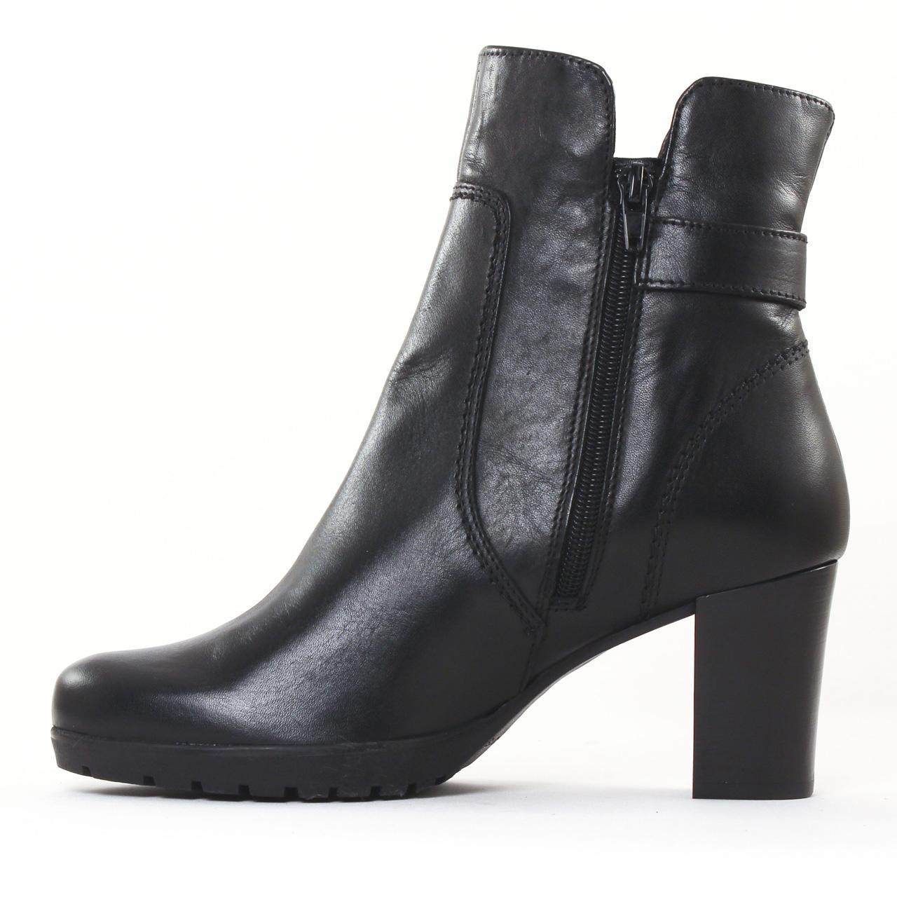tamaris 25394 black boot talon noir automne hiver chez. Black Bedroom Furniture Sets. Home Design Ideas