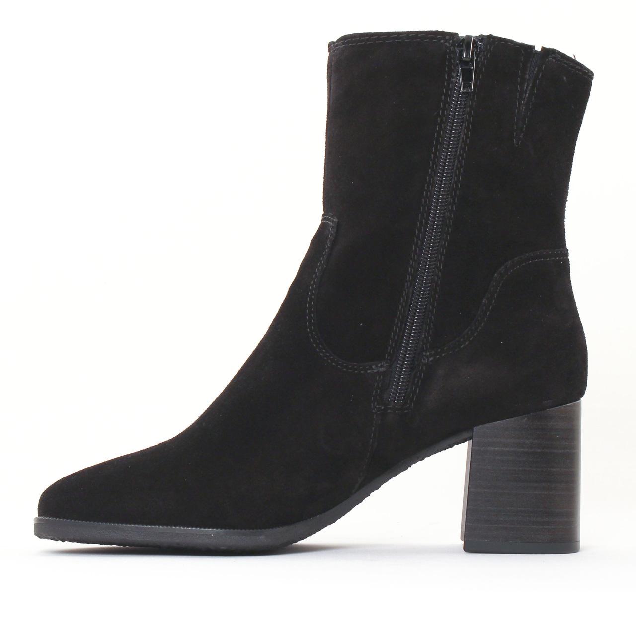 Tamaris 25478 Black | boot talon noir automne hiver chez