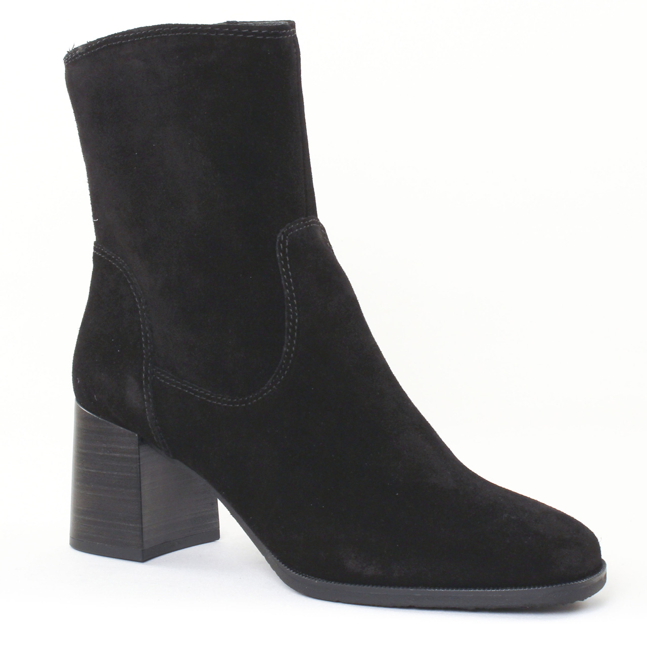 tamaris 25478 black boot talon noir automne hiver chez. Black Bedroom Furniture Sets. Home Design Ideas