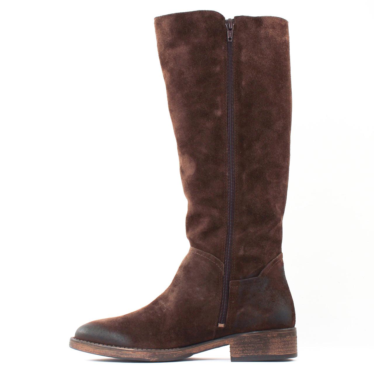 tamaris 25539 mocca bottes marron automne hiver chez trois par 3. Black Bedroom Furniture Sets. Home Design Ideas