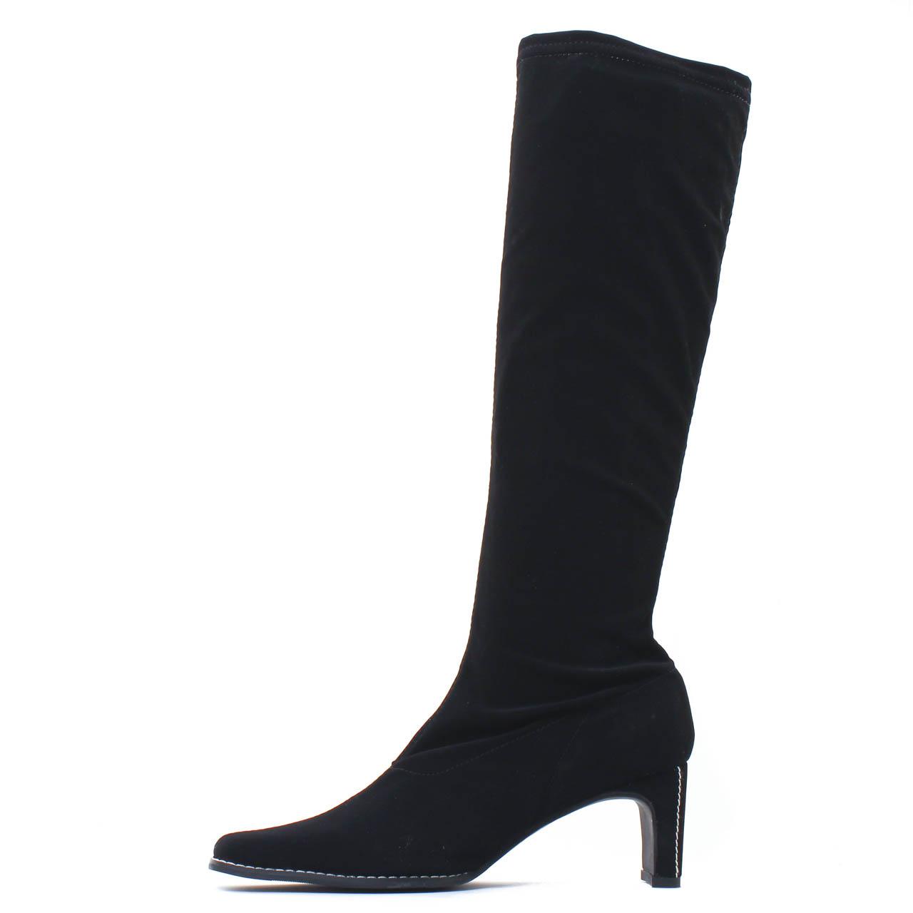 chaussures de sport d8870 d5977 Fugitive Fanfan Stretch Nubuck Noir | botte stretch noir ...