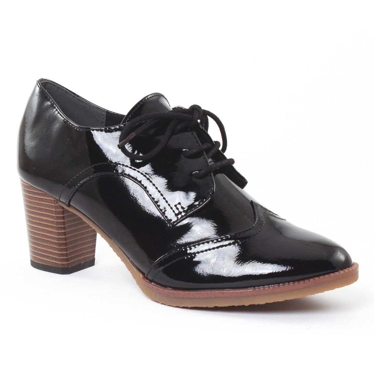Chaussures Marco Tozzi noires Casual femme NWKmB1
