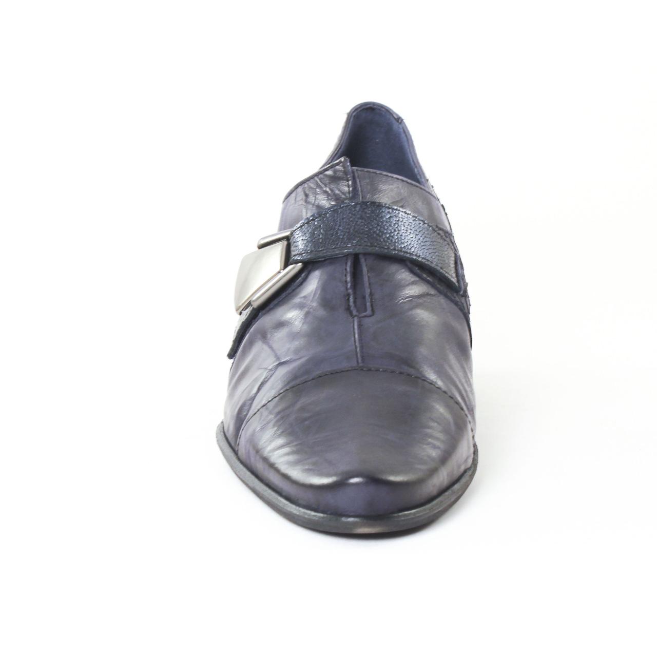 Dorking 6900 Edurne Marine | mocassin trotteurs bleu marine