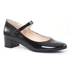 Chaussures femme hiver 2016 - babies talon Scarlatine vernis noir