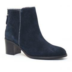 boots bleu marine: même style de chaussures en ligne pour femmes que les Impact
