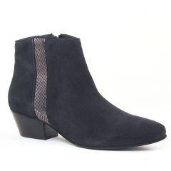 Chaussures femme hiver 2016 - boots Impact bleu marine