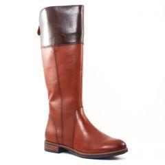 Chaussures femme hiver 2016 - bottes cavalières tamaris noir marron
