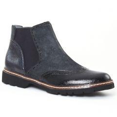 Chaussures femme hiver 2016 - boots élastiquées fugitive gris noir