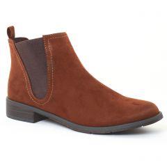 Chaussures femme hiver 2016 - boots élastiquées marco tozzi marron