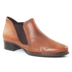 low-boots marron: même style de chaussures en ligne pour femmes que les Marco Tozzi