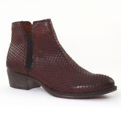 boots-chelsea marron: même style de chaussures en ligne pour femmes que les Pintodiblu By Costacosta