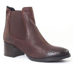 boots-chelsea marron: même style de chaussures en ligne pour femmes que les Les Tropéziennes
