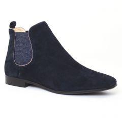 Chaussures femme hiver 2016 - boots élastiquées JB Martin bleu nuit