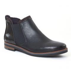 Chaussures femme hiver 2016 - boots élastiquées marco tozzi noir