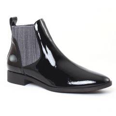 Chaussures femme hiver 2016 - boots élastiquées JB Martin noir vernis