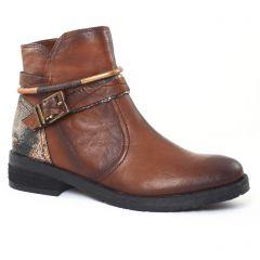 Chaussures femme hiver 2016 - boots fugitive marron doré