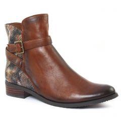 Chaussures femme hiver 2016 - boots fugitive marron serpent