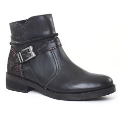 Chaussures femme hiver 2016 - boots fugitive noir paillettes