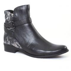 Chaussures femme hiver 2016 - boots fugitive noir python