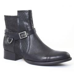boots noir vernie: même style de chaussures en ligne pour femmes que les Mamzelle